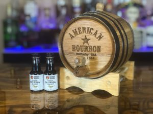 American bourbon making kit 1 liter by Red Head Barrels