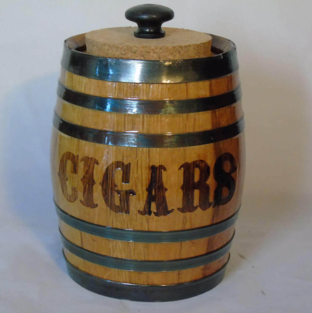 oak barrel cigar barrel