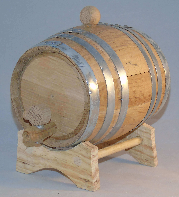 mini whiskey barrel instructions