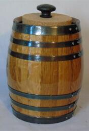 Oak Aging Barrel Cigar Infuser