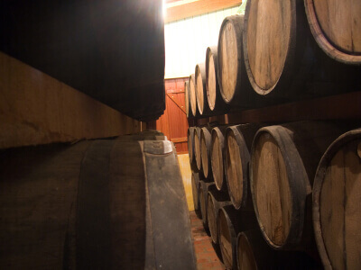 Bourbon Oak Barrels