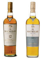 Macallan Single malt scotch oak barrel aged