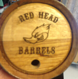 Red Head Oak Barrels