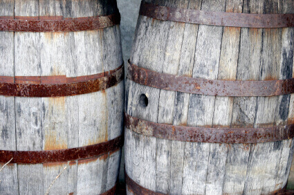 Quality Rum Comes From Oak Aging Barrels