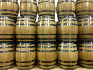 used bourbon barrels have new life with whiskey