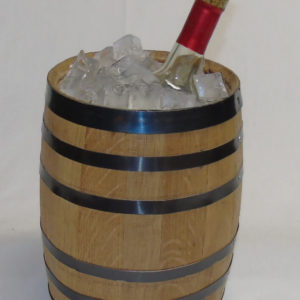 Whiskey Barrel Ice Bucket