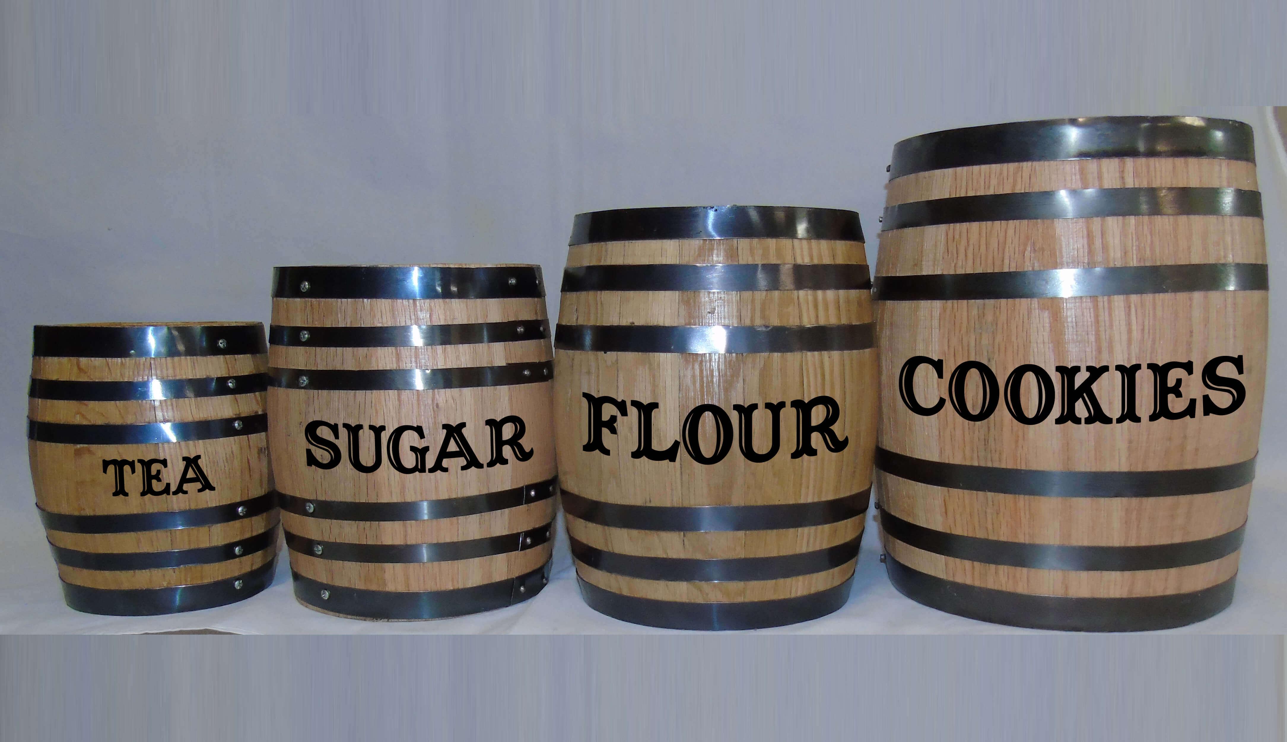 oak barrel canister set red head oak barrels aging rum 50 00