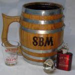 groomsmen gift barrel mug