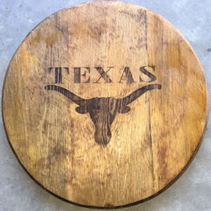 barrel head golden oak stain