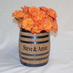 Barrel Flower Vase