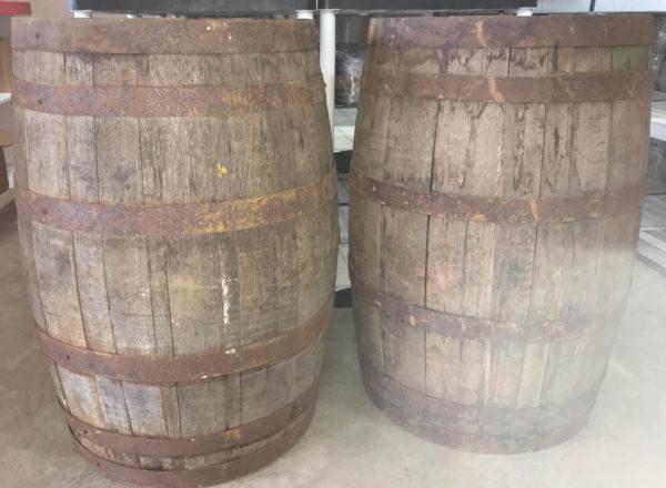 used 53 gallon barrel