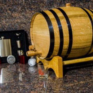 10 Liter Bronze Barrel Gift Package