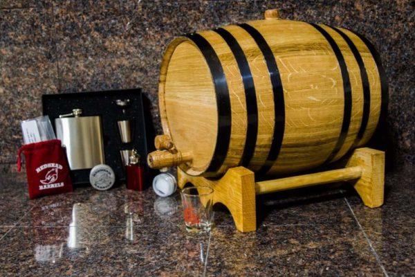10 Liter Bronze Barrel Gift Package