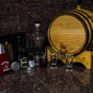 10 Liter Gold Barrel Gift Package