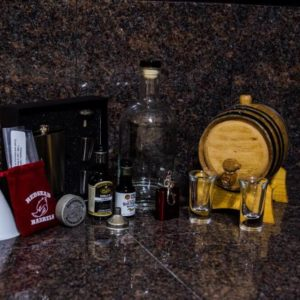 1 Liter Gold Barrel Gift Package