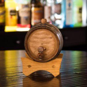1 Liter Oak Aging Barrel front