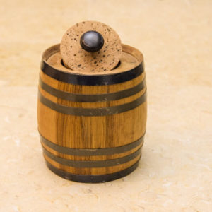 1 Liter Oak Barrel Canister