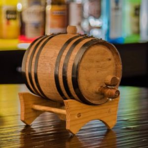 1 Liter Whiskey Infused Barrel