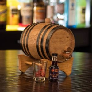 1 liter Oak Barrel and Liquor Flavoring Kit