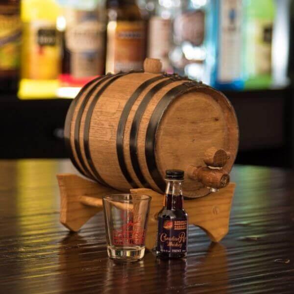 1 liter Oak Barrel and Liquor Flavoring Kit