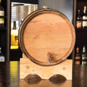 20 Liter Ageless Oak Barrel Front