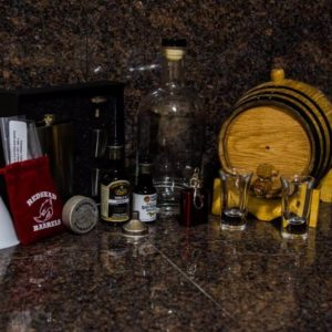 2 Liter Gold Barrel Gift Package