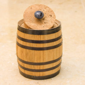 2 Liter Oak Barrel Canister
