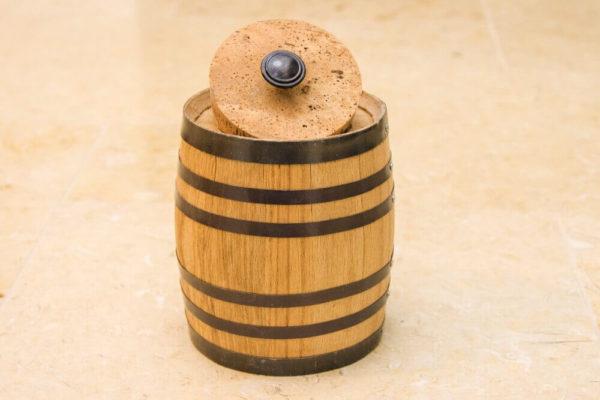 2 Liter Oak Barrel Canister