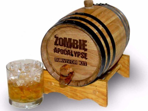 2 Liter Rum Infused Barrel 1