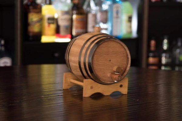 2 Liter Rum Infused Barrel