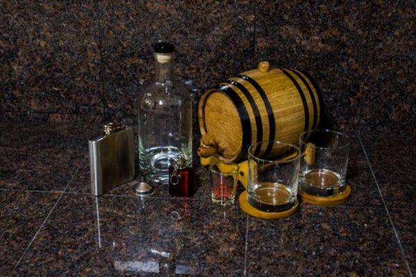 2 Liter Silver Barrel Gift Package 1