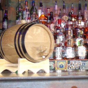 3 Liter Ageless Oak Barrel bar