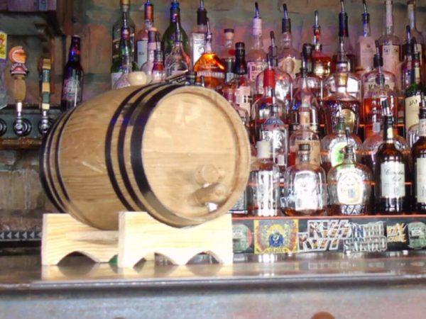 3 Liter Ageless Oak Barrel bar