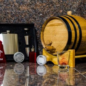 3 Liter Bronze Barrel Gift Package