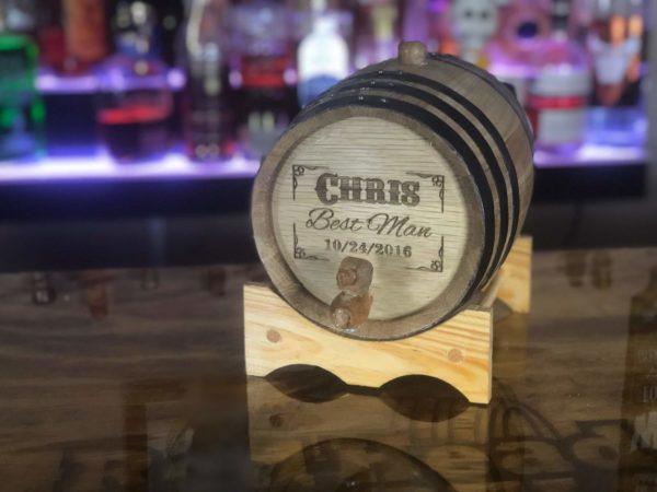 3 liter engraved barrel