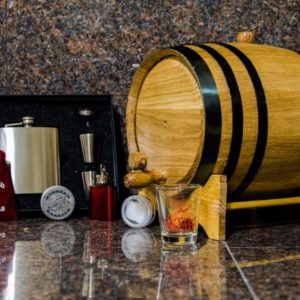 5 Liter Bronze Barrel Gift Package