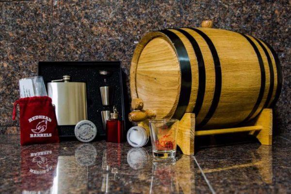 5 Liter Bronze Barrel Gift Package