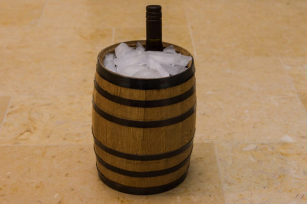 5 Liter Wine Barrel Ice Bucket