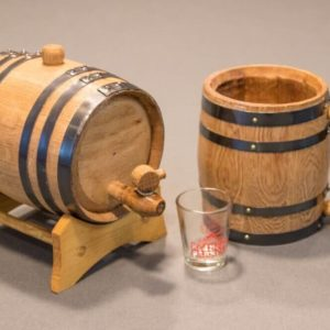 Aging Barrel and Mug Gift Set