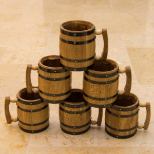 Barrel Mugs