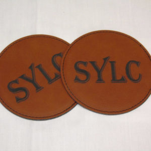 Leatherette Coasters Engraved