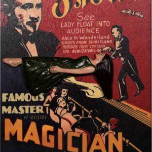 8002 MagicUnframed vaudeville sign