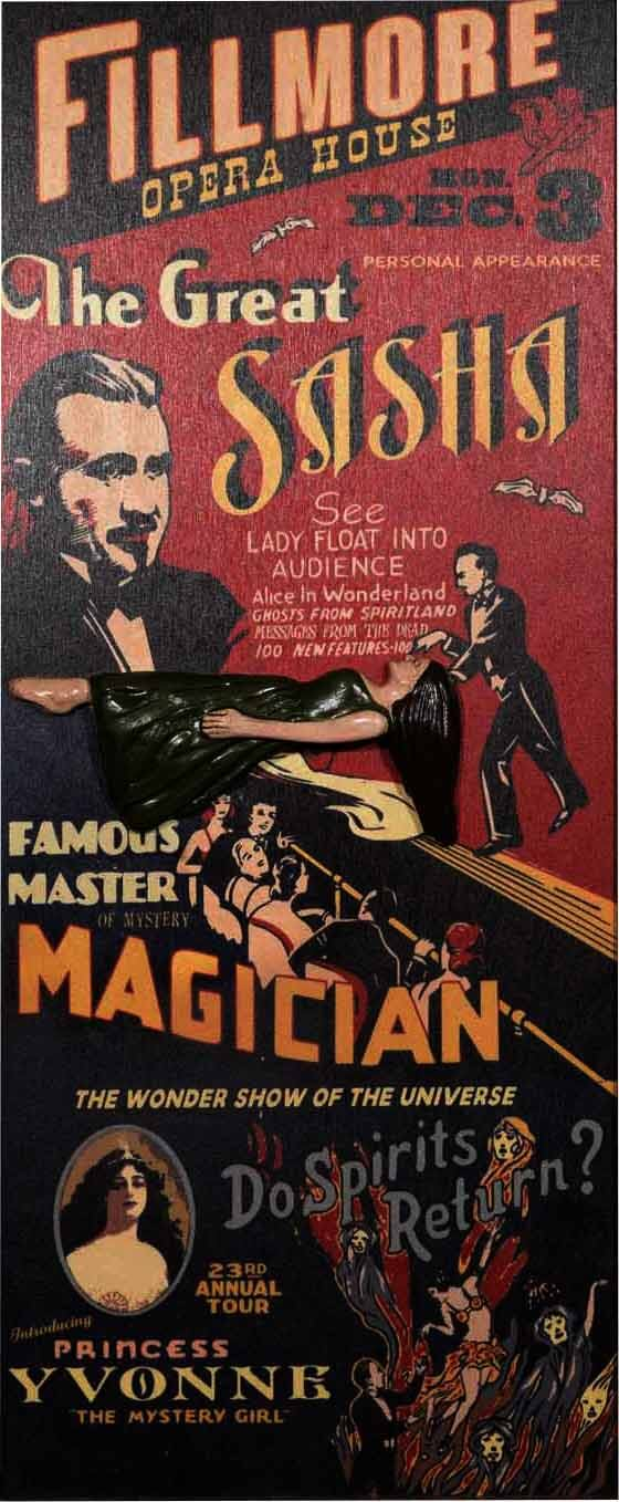 8002 MagicUnframed vaudeville sign