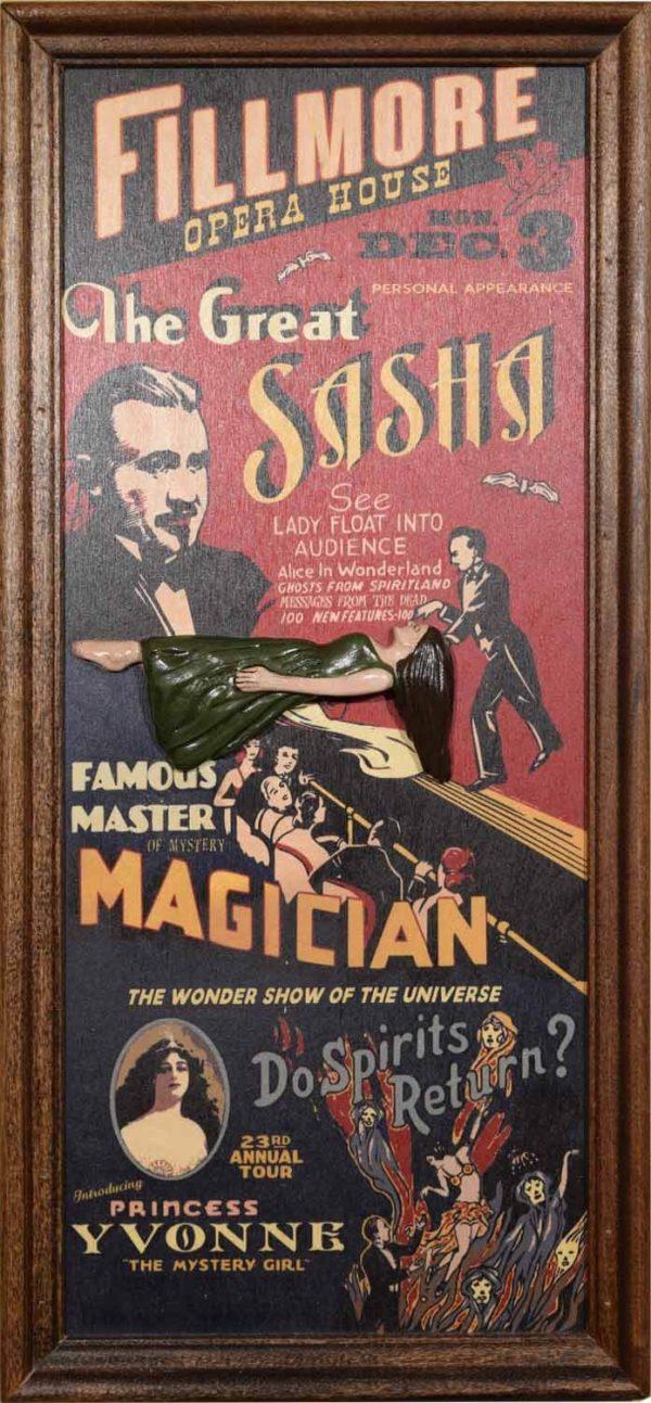 8002 Magic vaudeville sign