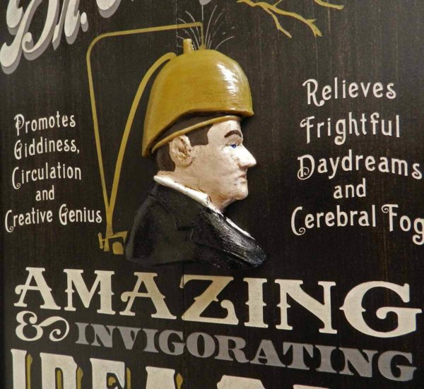 8003 Dr Magneto closeup vaudeville sign