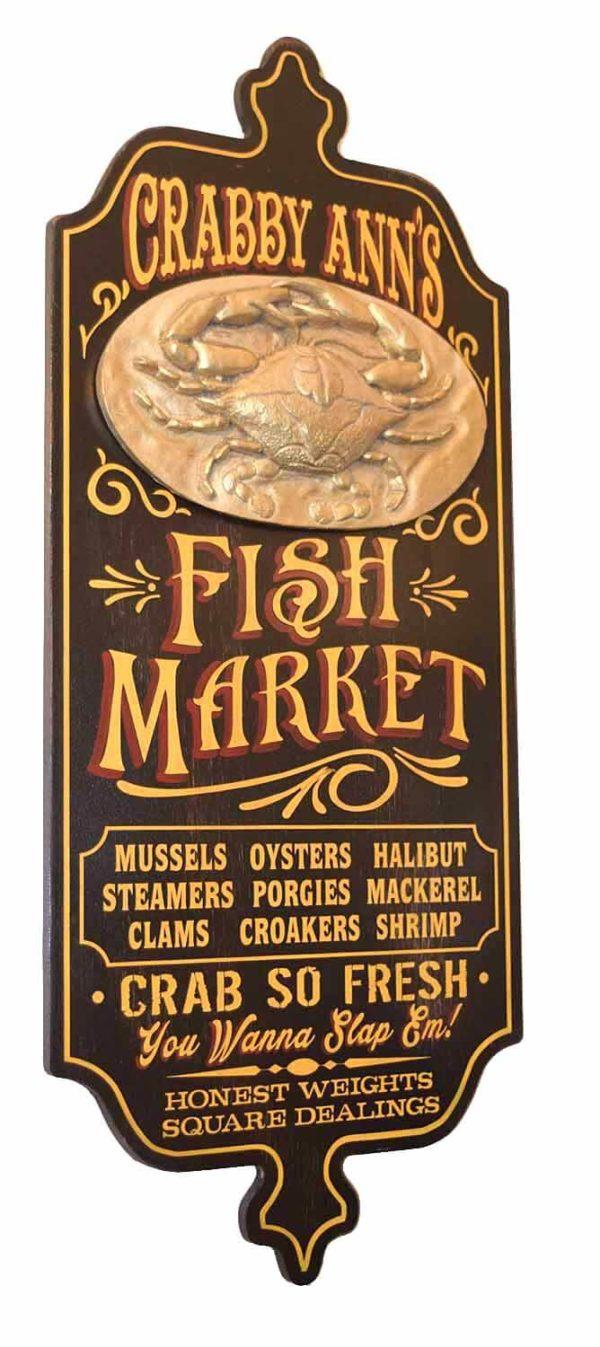 DUB 23 Sidefish market sign