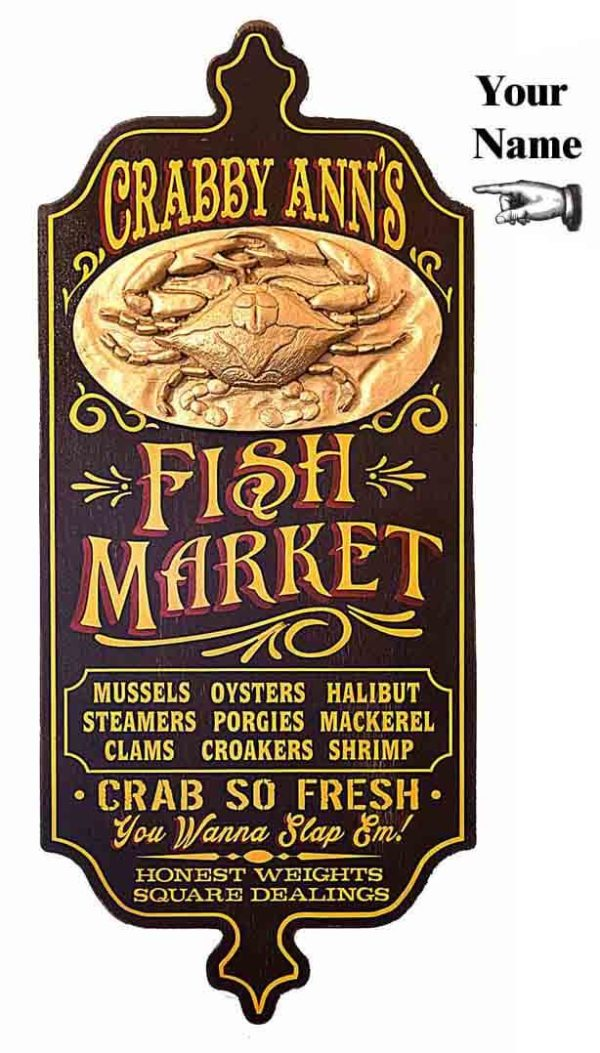 DUB 23xfish market sign