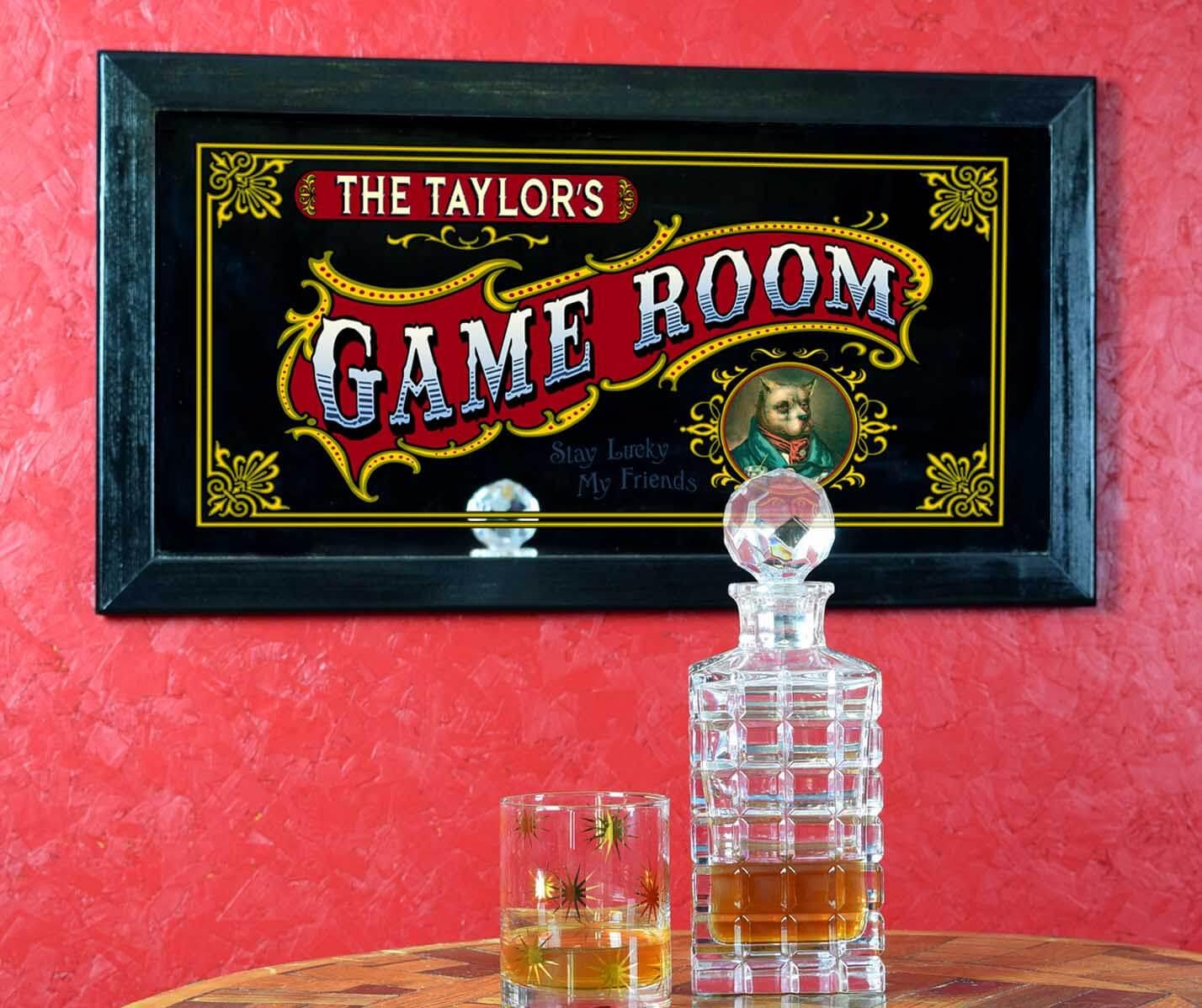 Mirror Bar Man Cave Signs 2 Mir 06 Gameroom