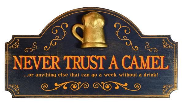 Never trust a camel