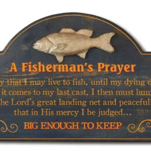 a fisherman prayer big enough to keep